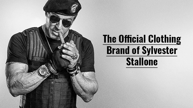 Official Merchandise of Sylvester Stallone